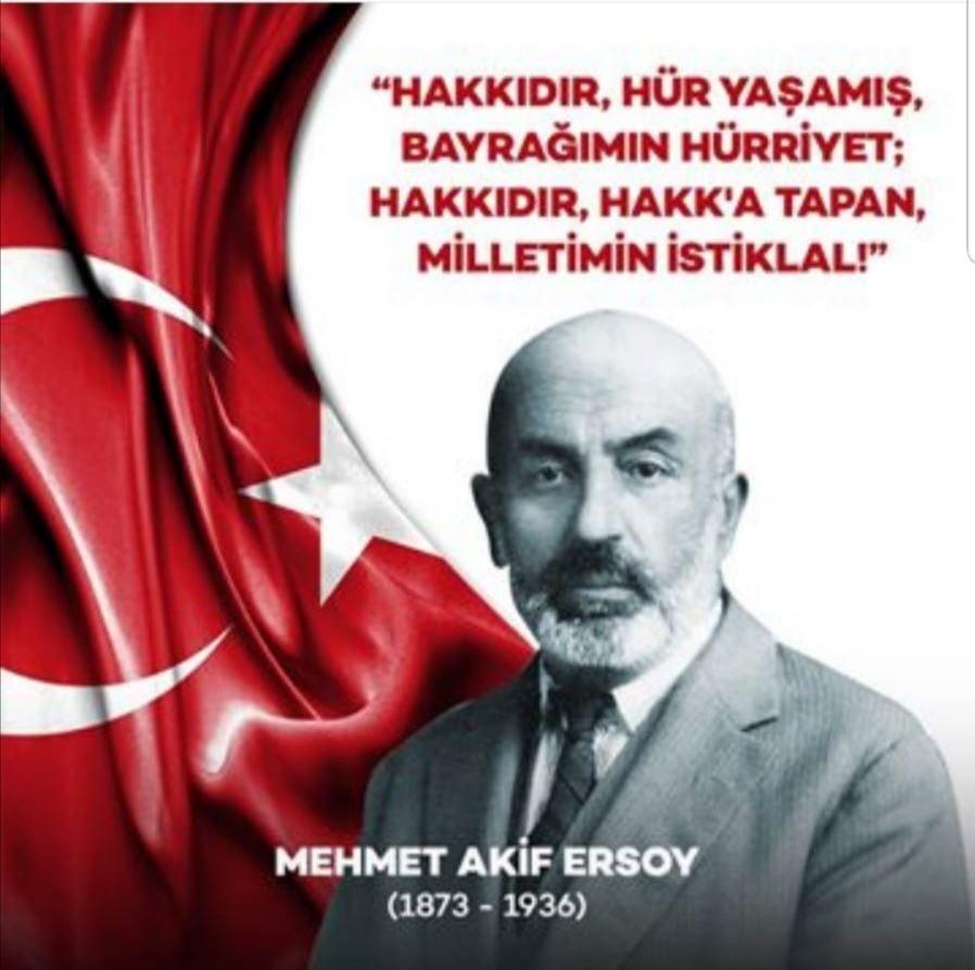 MEHMET AKİF ERSOY (20 ARALIK 1873- 27 ARALIK 1936)