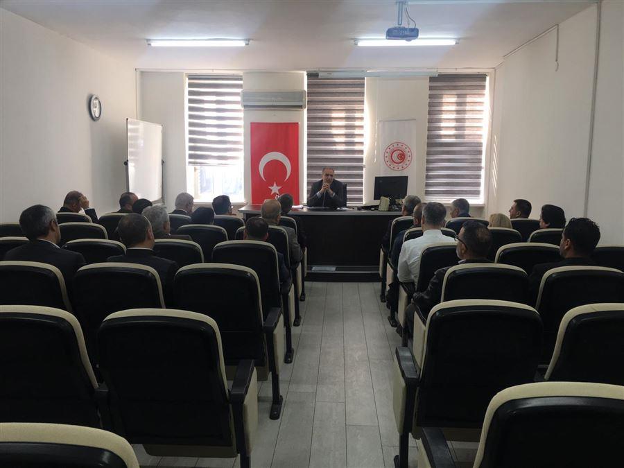 Yetkilendirilmiş Gümrük Müşavirleri ile Bölge Müdürlüğümüzde Tanışma Toplantısı