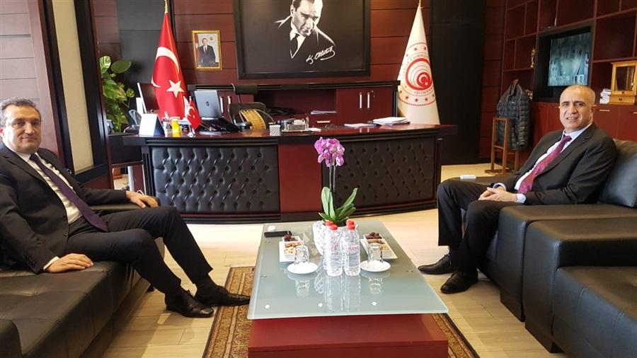 Mersin Cumhuriyet Başsavcımız Mustafa ERCAN'dan Veda Ziyareti