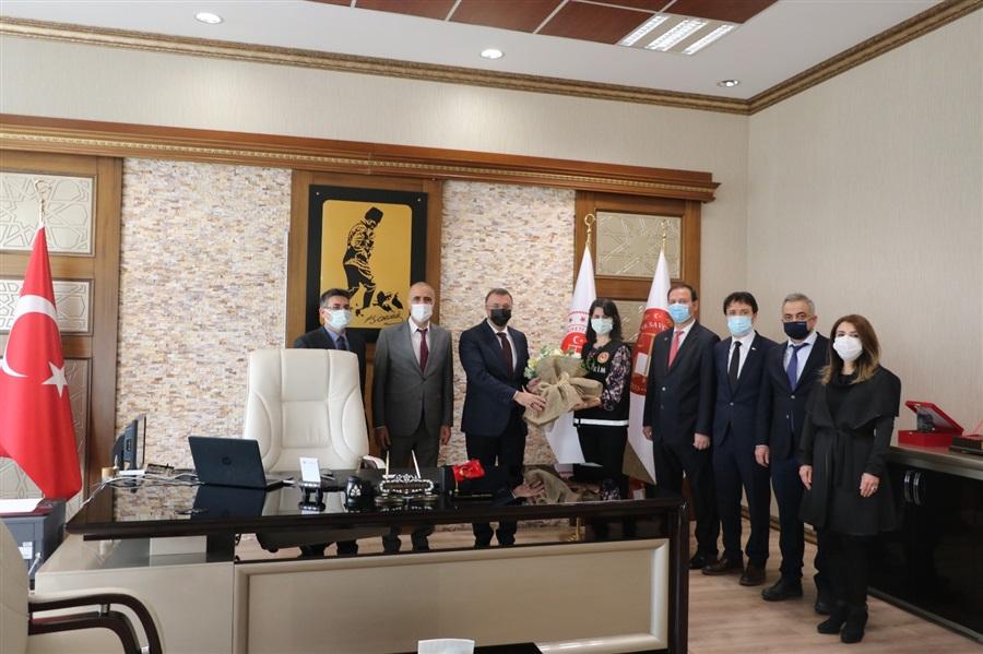 26 Ocak Dünya Gümrük Günü Kapsamında Mersin Cumhuriyet Başsavcısı Sn. Tolgahan ÖZTOPRAK'A Makamında Ziyaret