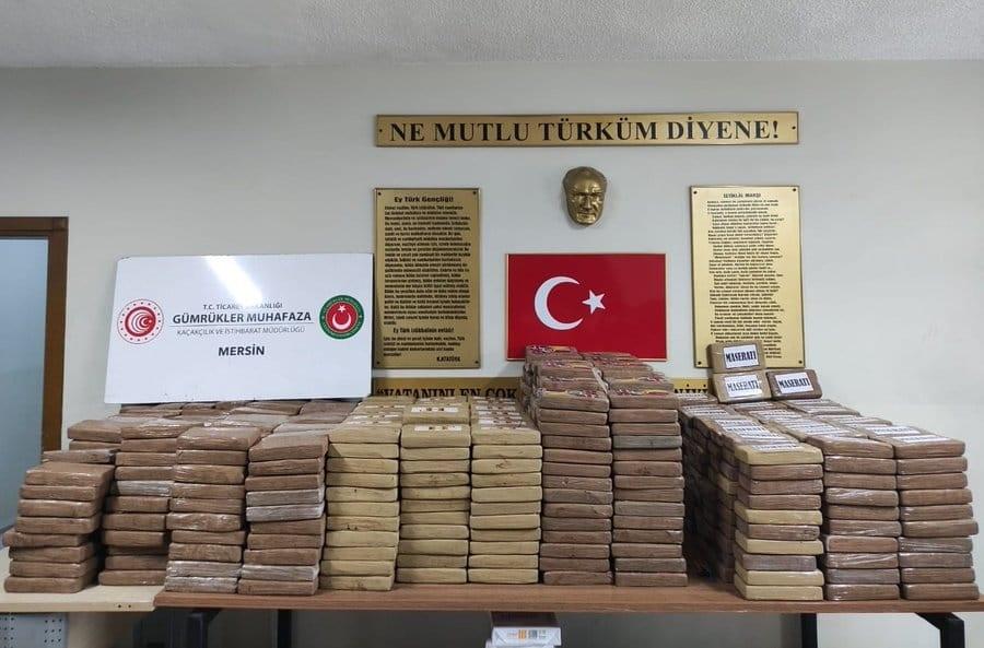 Türk Gümrüklerinde Cumhuriyet Tarihinin En Büyük Uyuşturucu operasyonu