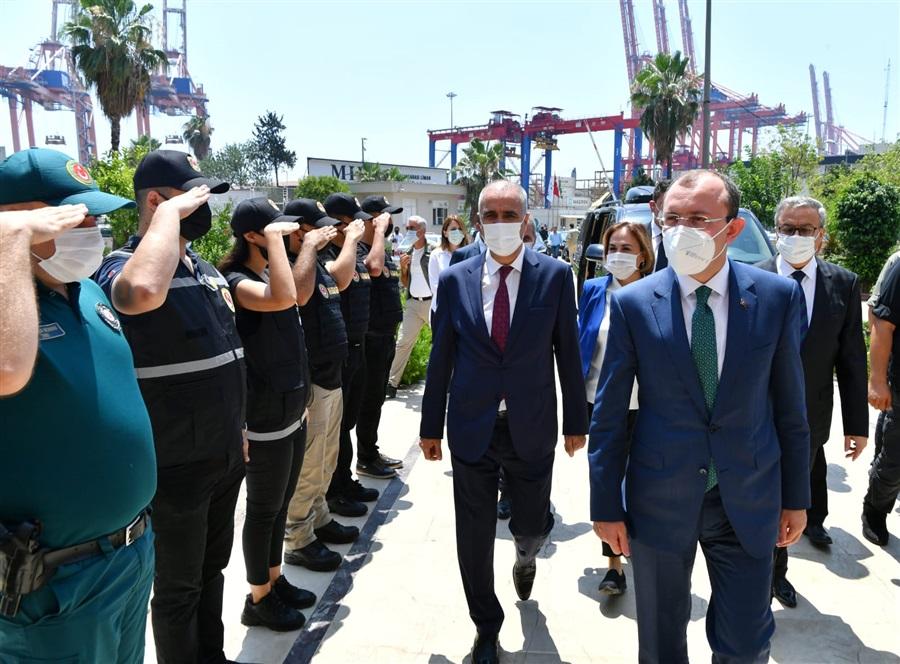 Ticaret Bakanımız Sn. Mehmet MUŞ Bölge Müdürlüğümüzü Ziyaret Etti
